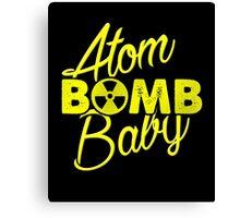 Atom BOMB Baby Canvas Print
