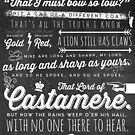 The Rains of Castamere by mcgani