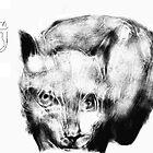 Imaginary Cat - (010413)- Digital artwork/mouse drawn by paulramnora