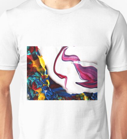 Fun Colorful Abstract Pattern  Unisex T-Shirt