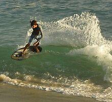 Laguna Beach Surfer by Chad Burrall