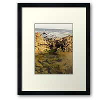 Laguna Beach Rocks Framed Print