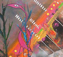Ibis Bird Dance by tracie worth
