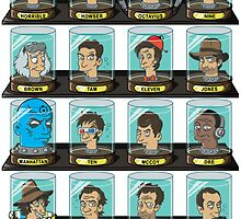 Head in a Jar Museum - Doctor Wing by CoDdesigns