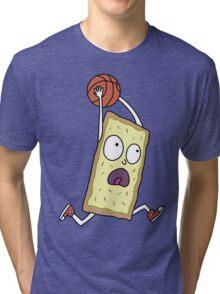 Rick & Morty - Dunking Poptart Tri-blend T-Shirt