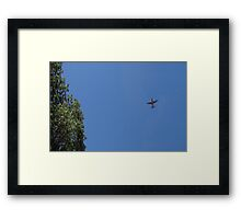 Airplane C130h Framed Print