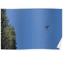Airplane C130h Poster
