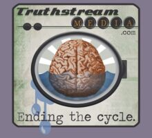 "Truthstream Media ""End Cycle"" Logo by truthstreamnews"