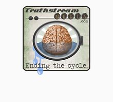 "Truthstream Media ""End Cycle"" Logo Unisex T-Shirt"