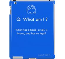 Riddle #6 iPad Case/Skin