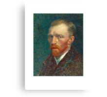 Vincent van Gogh - Self Portrait - Auto Portrait tshirt Canvas Print
