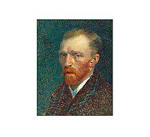 Vincent van Gogh - Self Portrait - Auto Portrait tshirt Photographic Print
