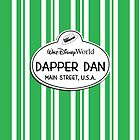 WDW Dapper Dans Name Tag - Green by jdotcole