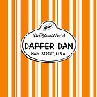 WDW Dapper Dans Name Tag - Halloween by jdotcole