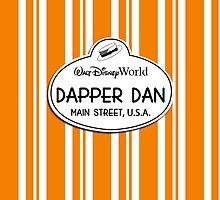WDW Dapper Dans Name Tag - Halloween by jdotcole