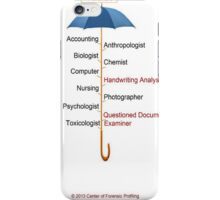 Forensic is the Word iPhone Case/Skin