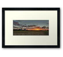 Shear Outback Framed Print