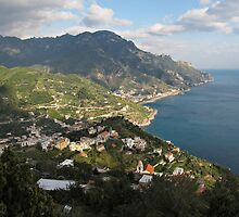 View from Ravello by kirilart