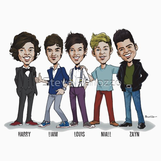 One direction caricature keywords and pictures one direction caricature tee one direction caricature voltagebd Images