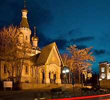 Russian Church of St Nicholas the Miracle Maker in Sofia by kirilart