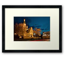 Russian Church of St Nicholas the Miracle Maker in Sofia Framed Print