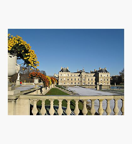 The Luxembourg Palace in Paris France Photographic Print