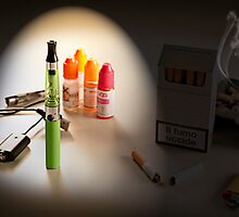 Electronic cigarette flavors by EddieCrow