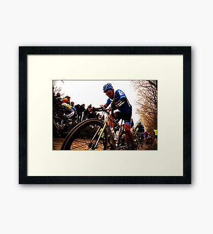 Tour of Flanders Framed Print