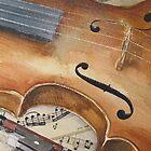 Violin by ricksilverfish