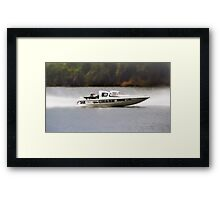 The chase 348-01 Framed Print