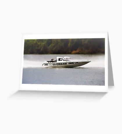 The chase 348-01 Greeting Card
