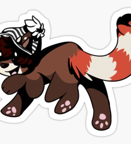 red tail Sticker