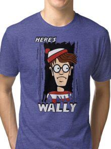 Here's Wally Tri-blend T-Shirt
