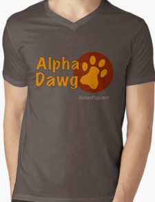 Alpha Dawg Mens V-Neck T-Shirt