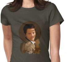Castiel ~ Portrait Womens Fitted T-Shirt