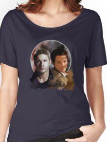 Cas & Dean Women's Relaxed Fit T-Shirt