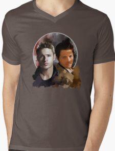 Cas & Dean Mens V-Neck T-Shirt