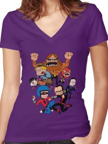 The Diggables! Women's Fitted V-Neck T-Shirt