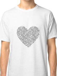 Words Are Powerful (African-American) Classic T-Shirt