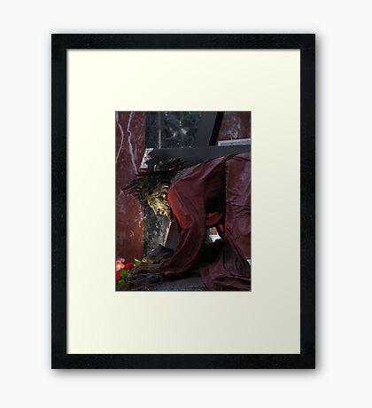 Ir-Redentur Framed Print