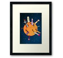 Rotten moon Framed Print
