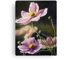 Playful Poppies Canvas Print