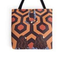 Congratulations It's Twins The Shining Horror Birthday Greetings Card Tote Bag
