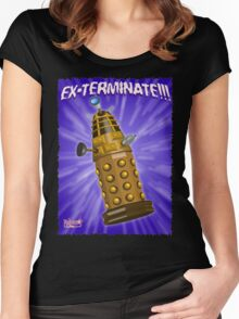 EX-TERMINATE! Women's Fitted Scoop T-Shirt