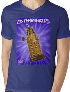 EX-TERMINATE! Mens V-Neck T-Shirt