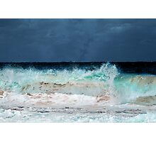 Stormy Maroubra Beach Photographic Print