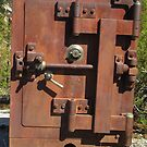 Old Rusty Safe by Tina Hailey