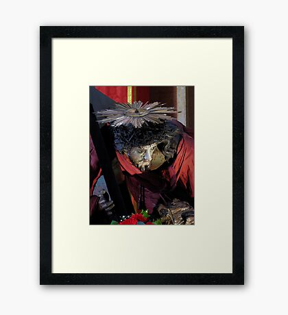 Our Lord Jesus Christ Framed Print