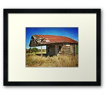No Blue Plate Special Today Framed Print