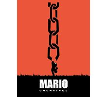 Mario Unchained Photographic Print
